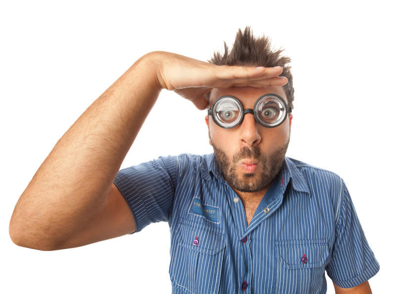 surprised quaint glimpse man guy wow mad fun enlistment military man visit distance competition mad clever clear eye doctor problem goggles carnival glasses scholarly student study see good nice eye visual face face surprise look overdrawn ashamed price o